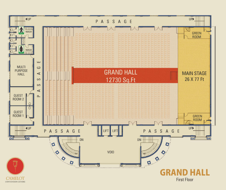 Camelot Grand Hall Provides State Of The Art Acoustic